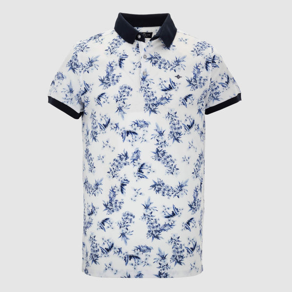 Polo estampado slim fit 105273