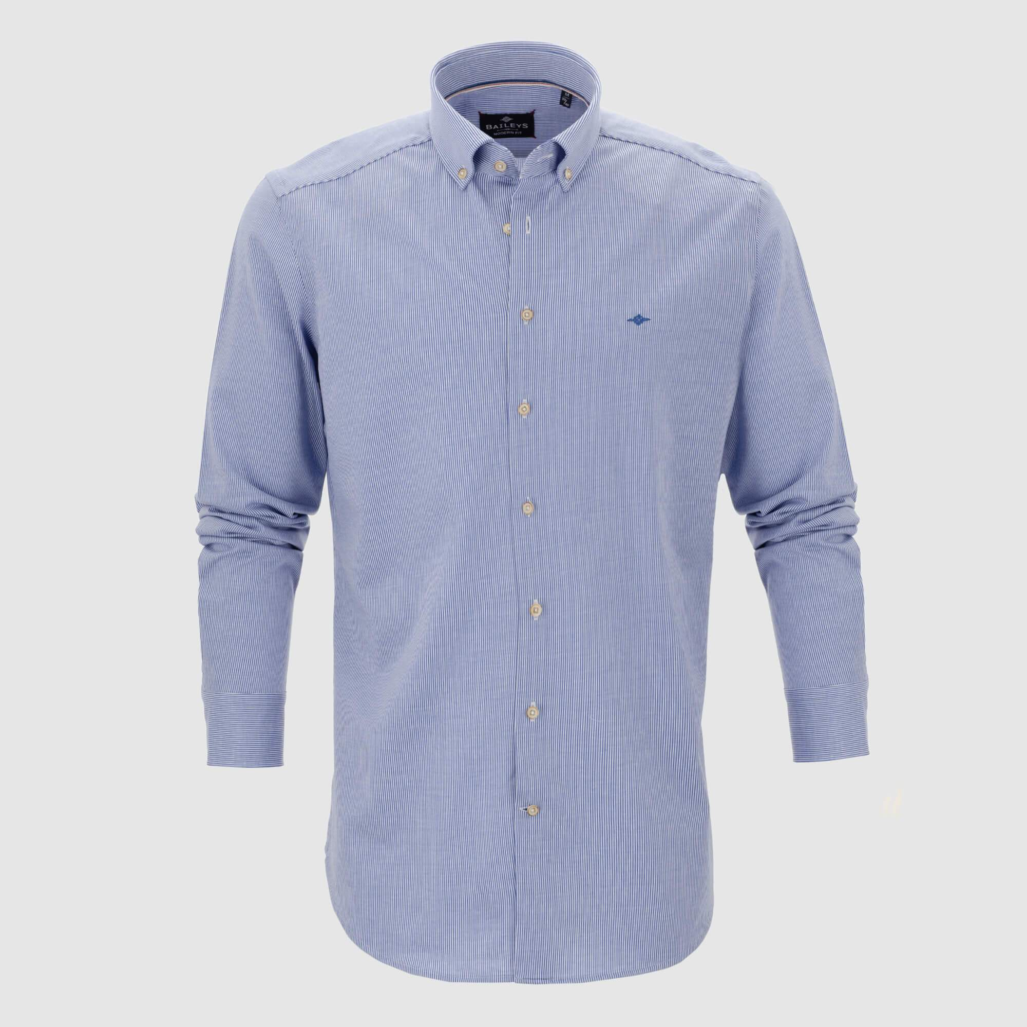 Camisa de rayas slim fit 927501