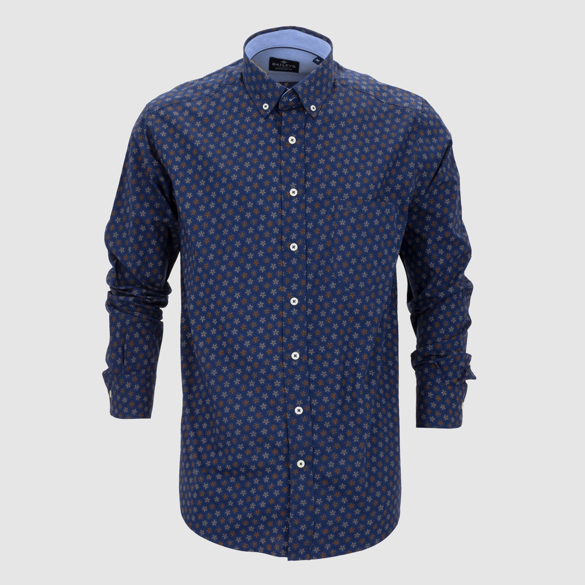 Camisa estampada regular fit 207680