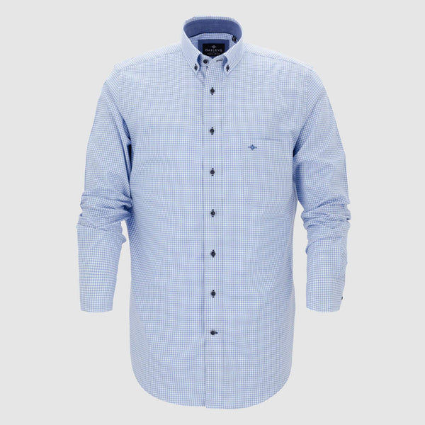Camisa de microcuadros corte regular fit 927315