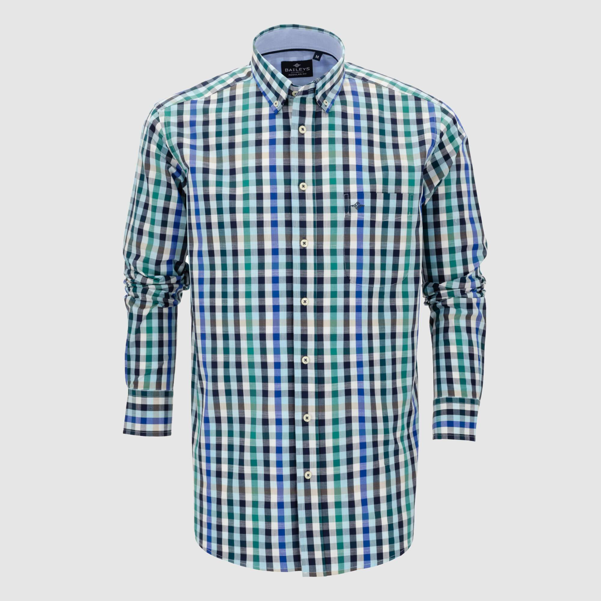 Camisa cuadros regular fit 107672