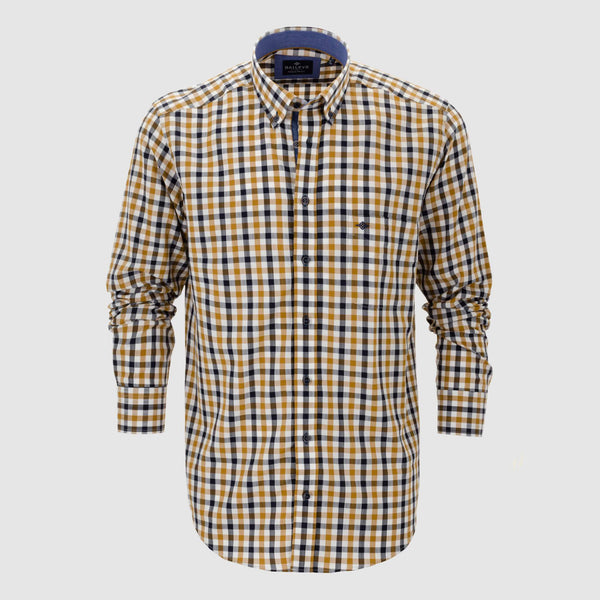 Camisa de cuadros regular fit 927302