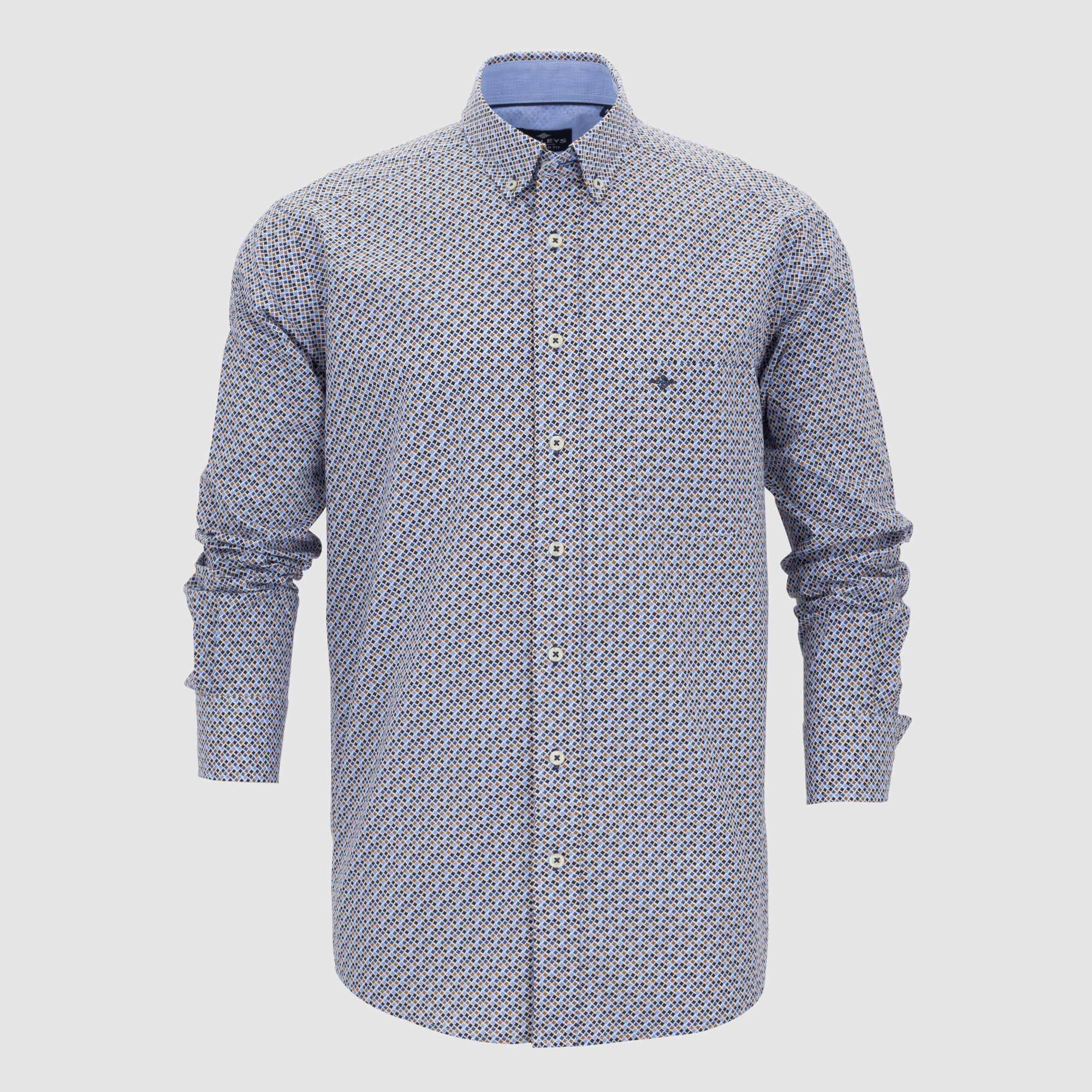 Camisa estampada regular fit 207671