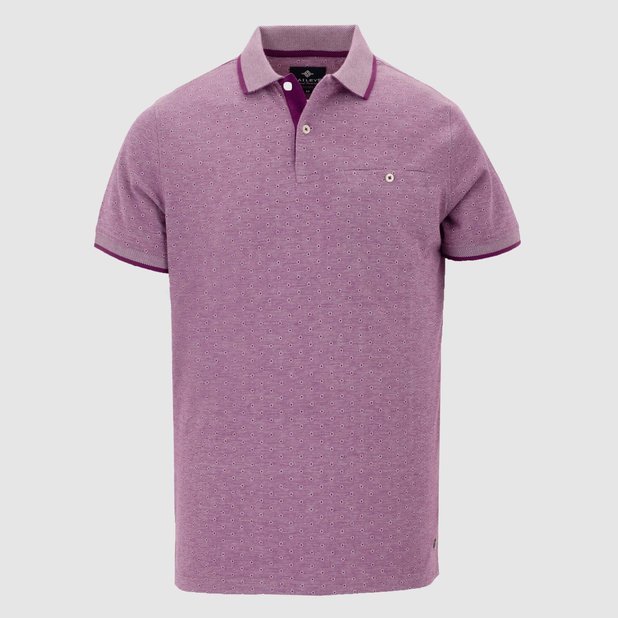 Polo estampado regular fit 105286