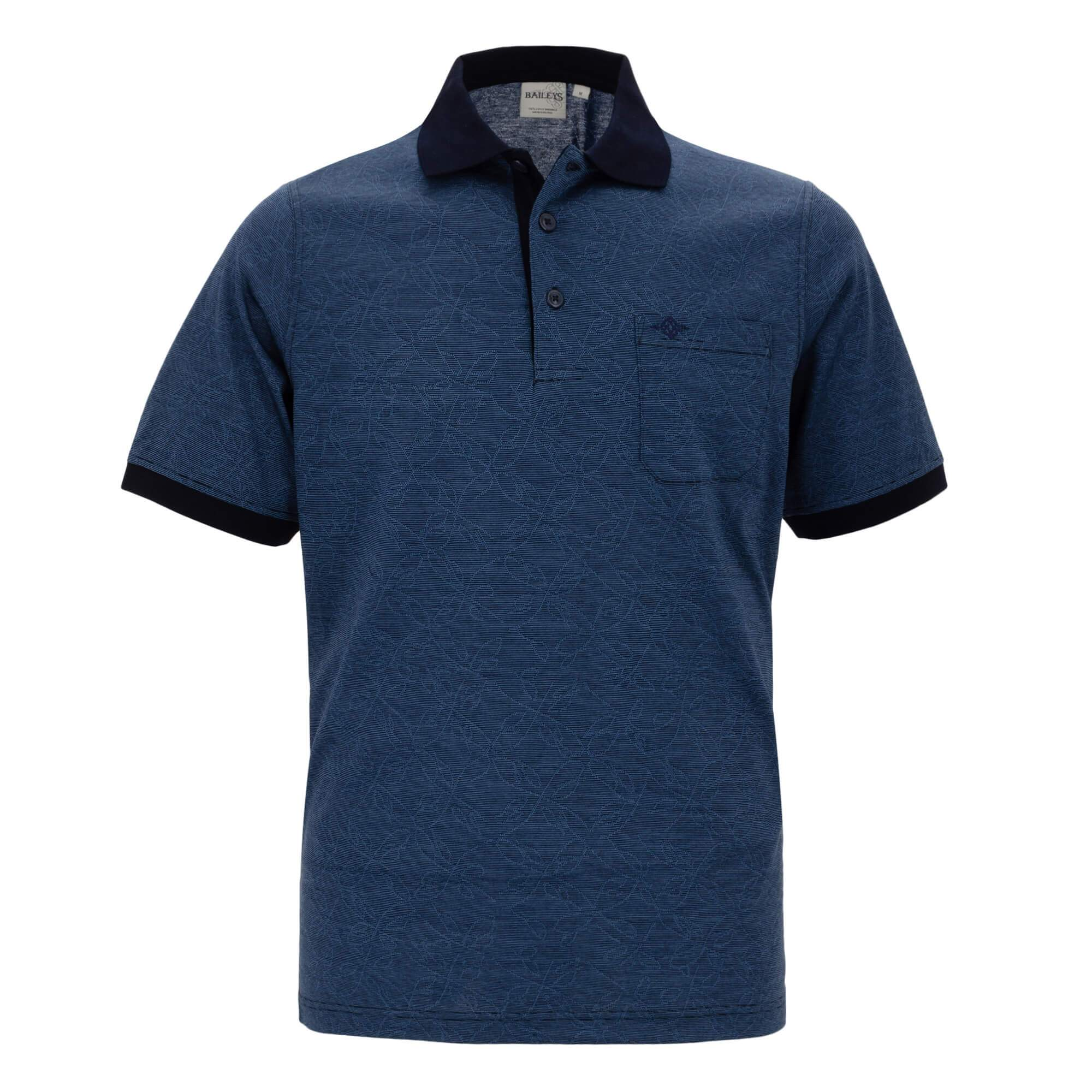 Polo estampado corte regular fit 914053