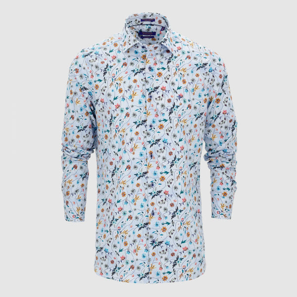 Camisa estampada diseño exclusivo slim fit 927834