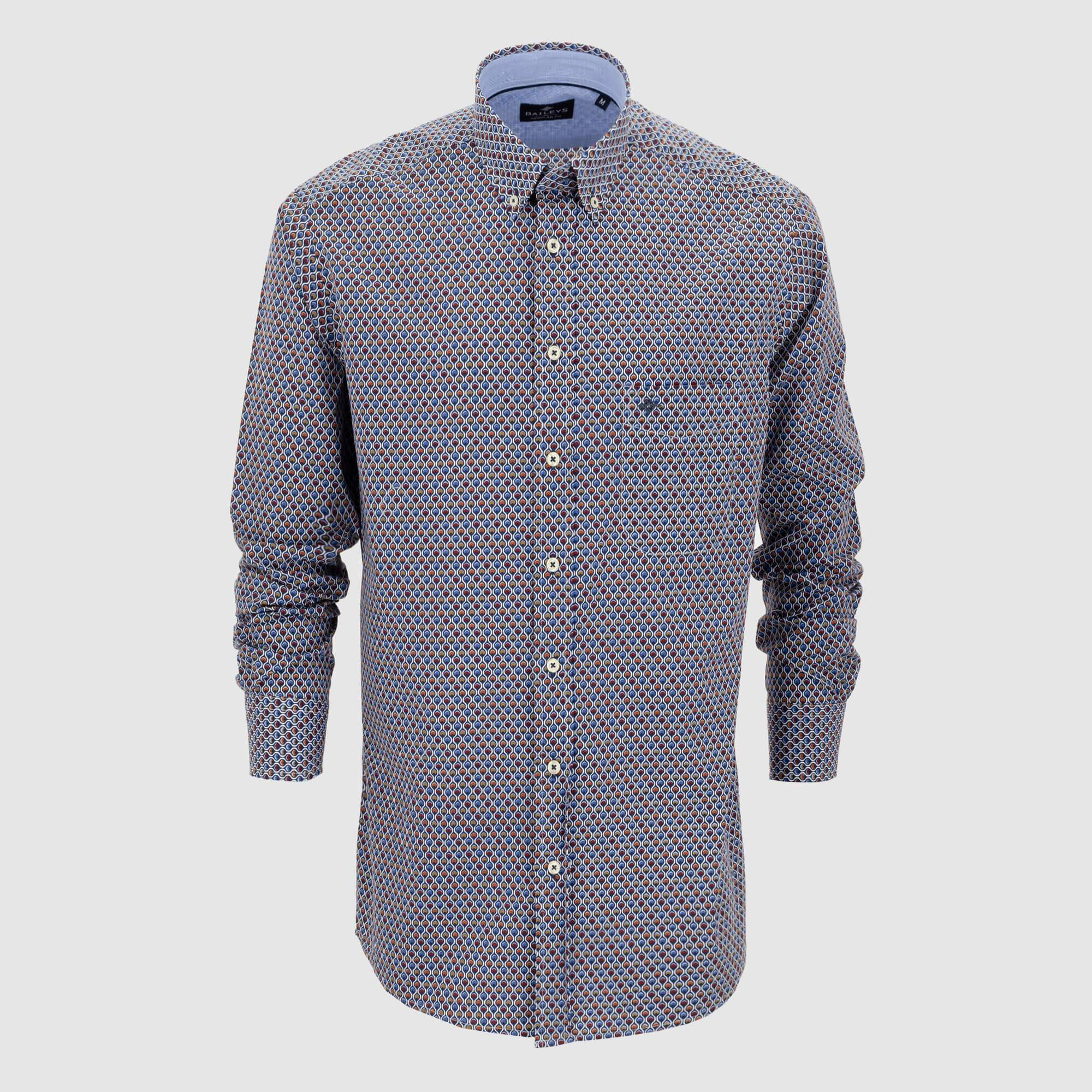 Camisa estampada regular fit 927689