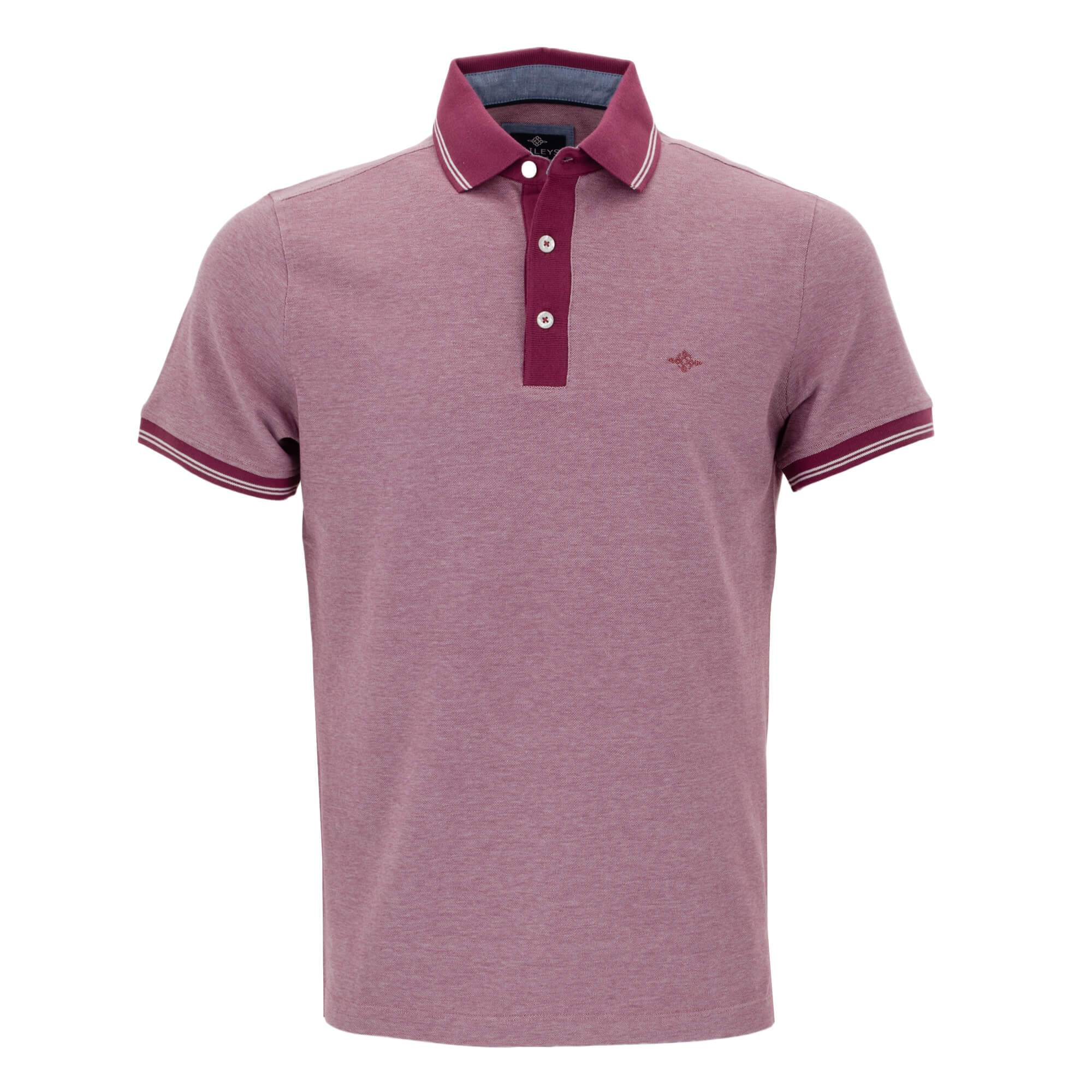 Polo jaspeado con corte regular fit 915269