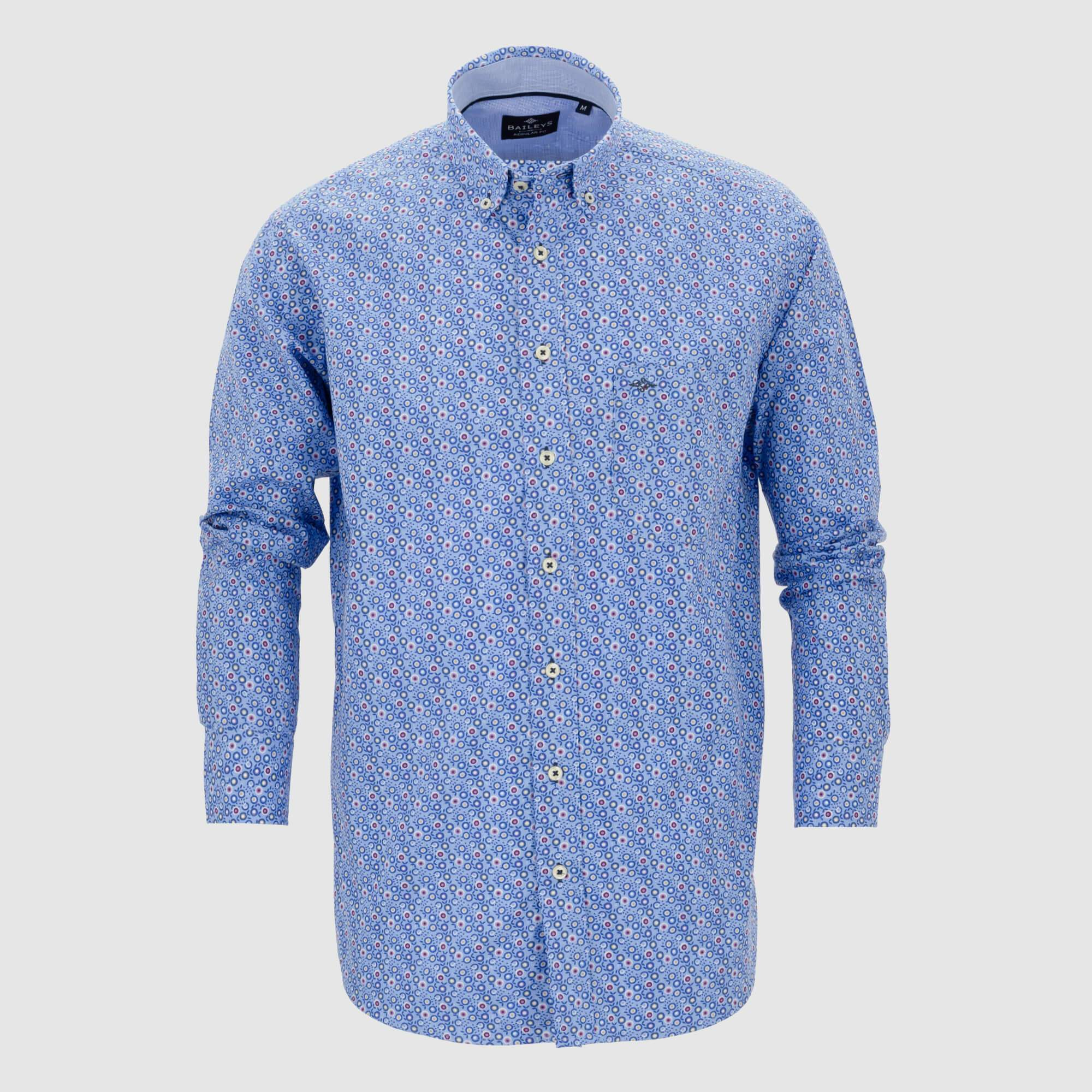 Camisa estampada regular fit 107680