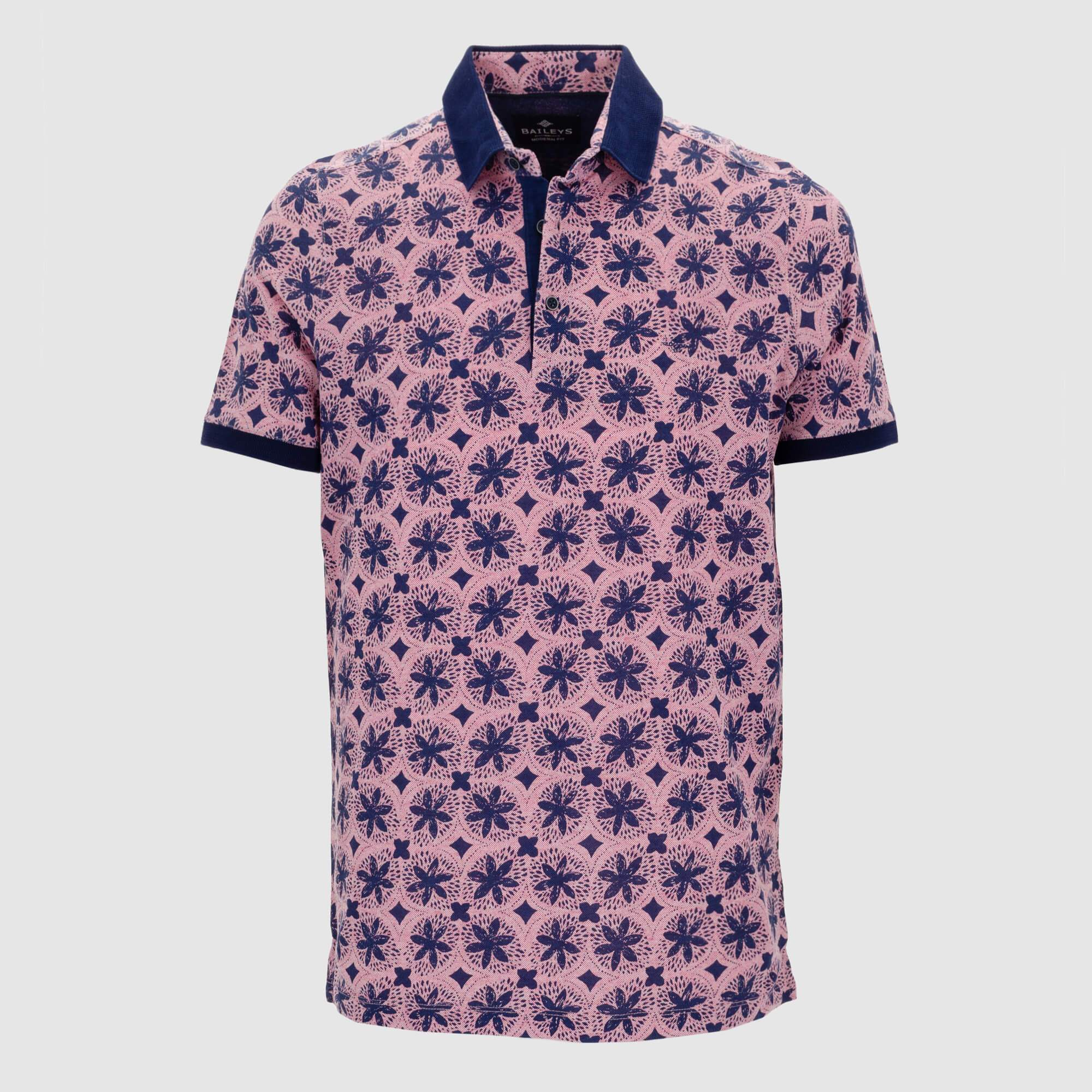 Polo estampado slim fit 106590