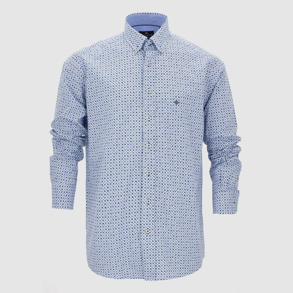 Camisa estampada regular fit 207670