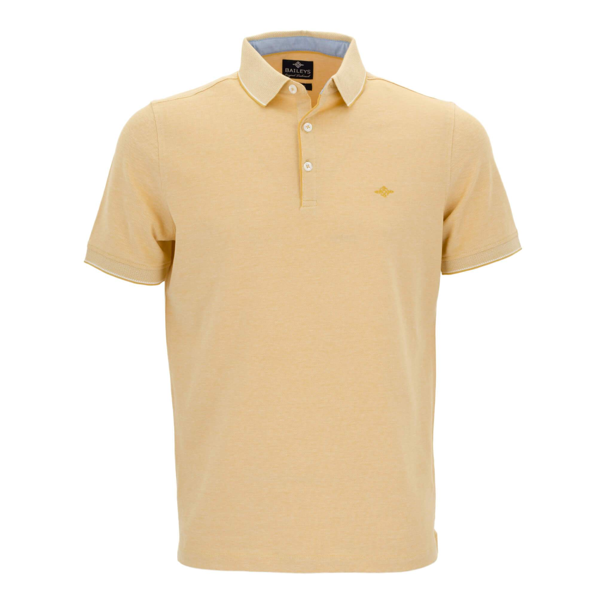 Polo jaspeado con corte regular fit 915267
