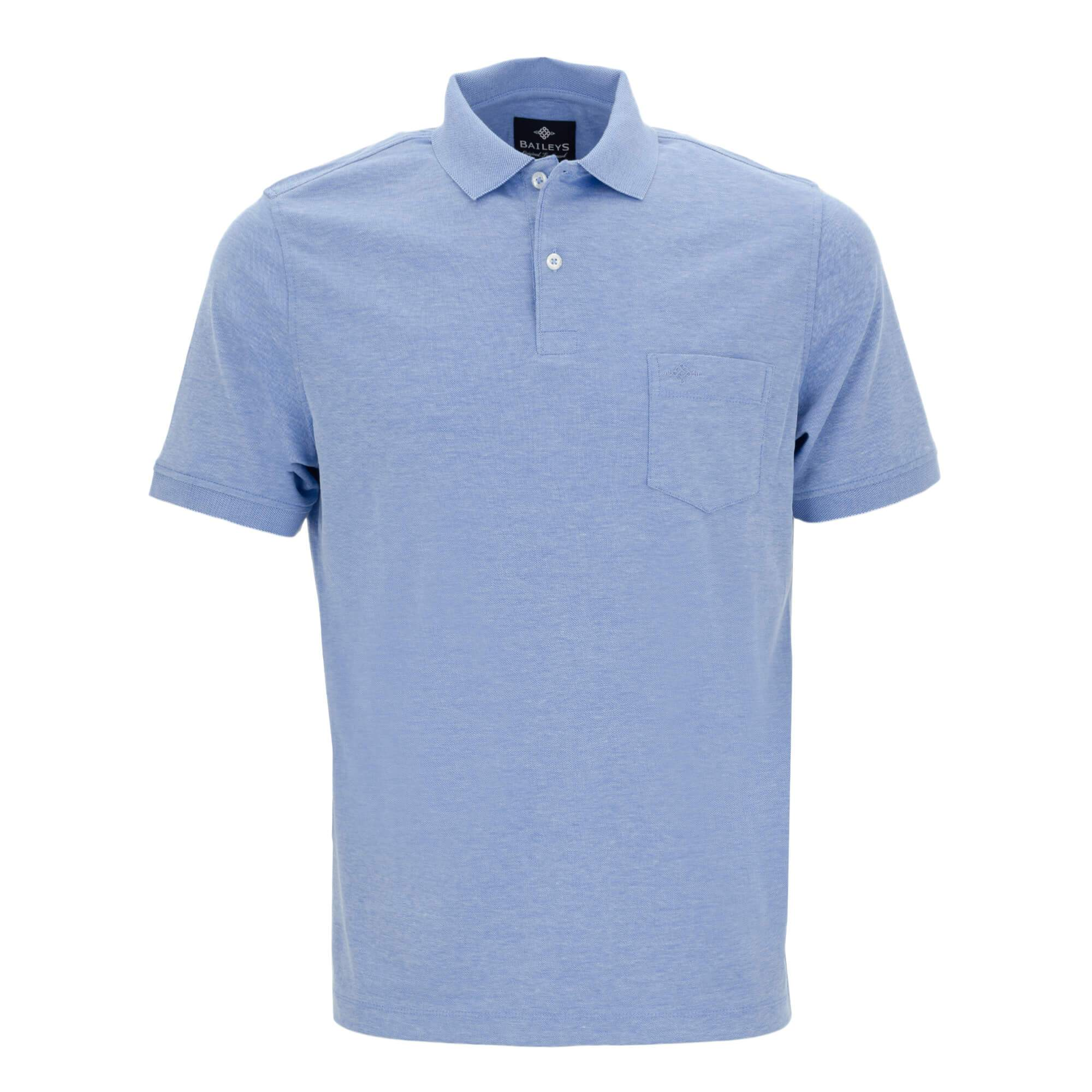 Polo jaspeado con corte regular fit 915258