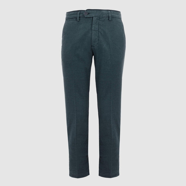 Pantalón chino con micro estampado regular fit 921014/70