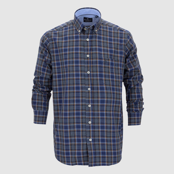 Camisa cuadros regular fit 207685