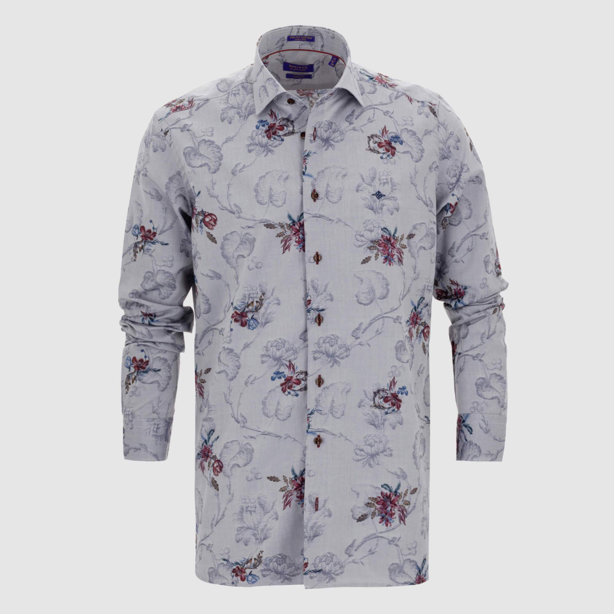 Camisa estampada diseño exclusivo slim fit 927846