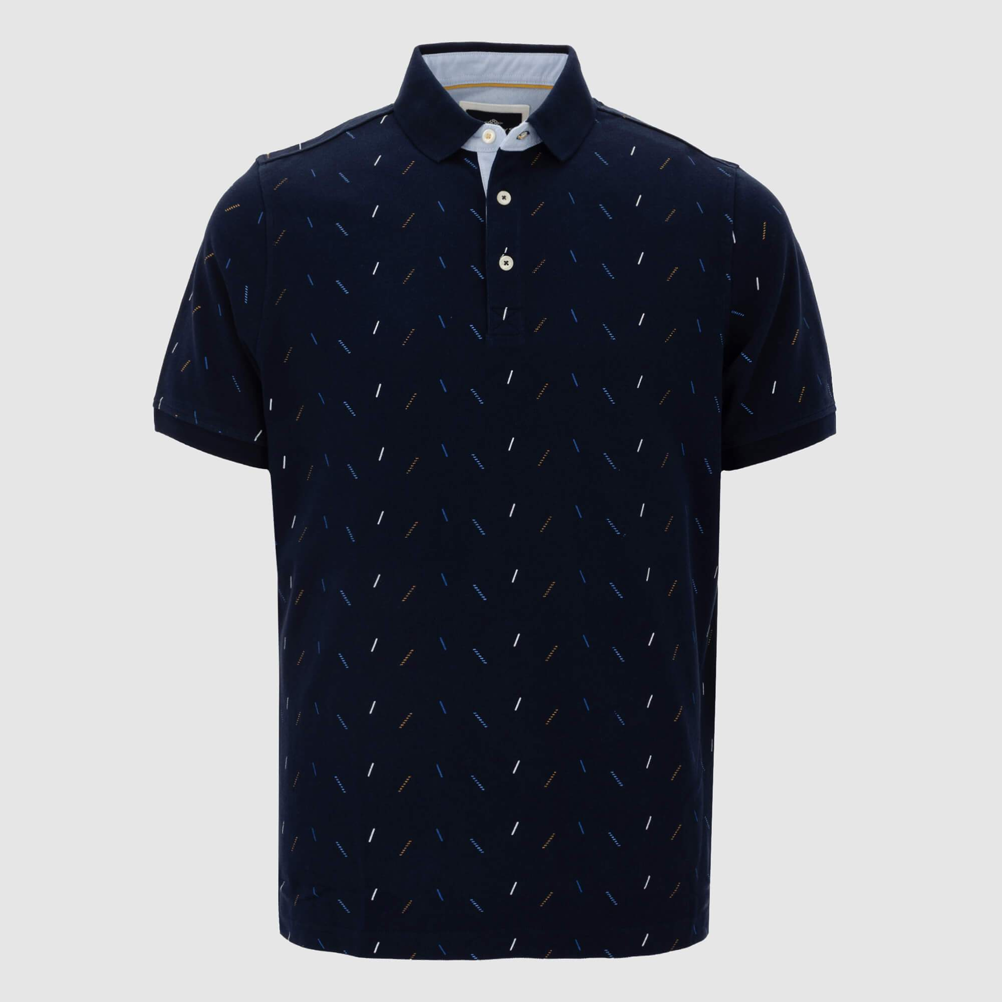 Polo estampado regular fit 105246