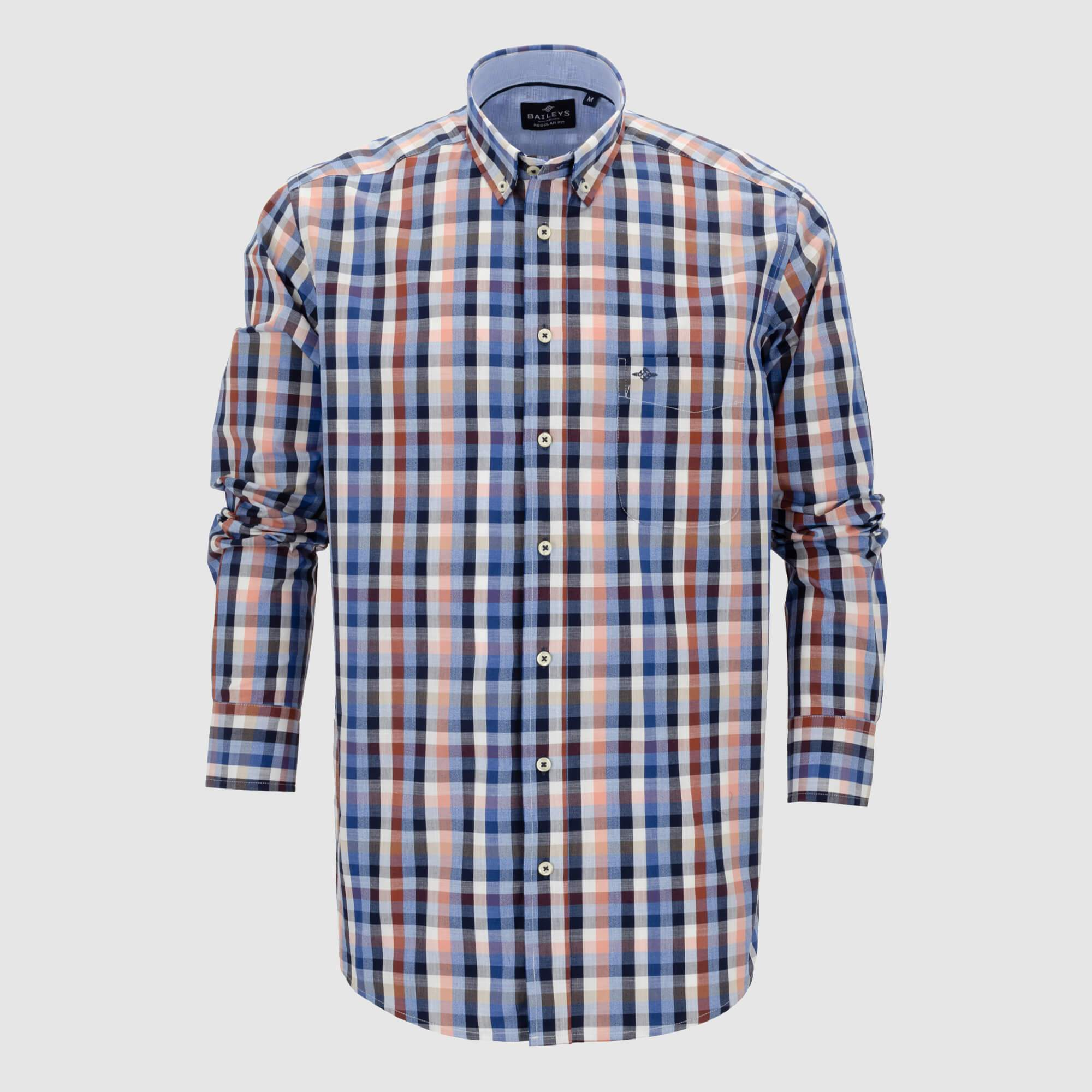 Camisa cuadros regular fit 107671