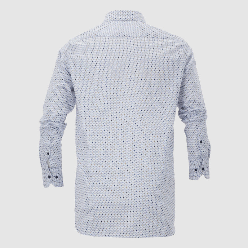 Camisa estampada slim fit 207039