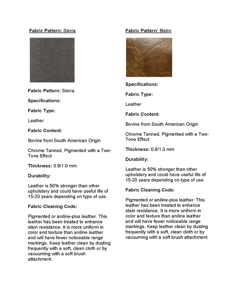 Stylnn Fabric Information Leather