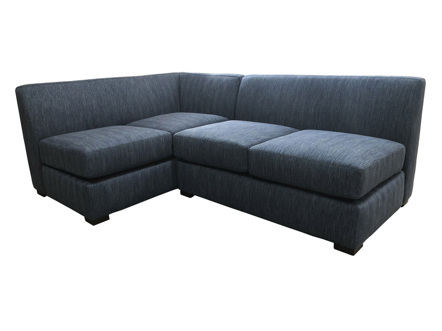 "The Perfect Apartment Sectional | 81"" x 56"" Armless Sectional 