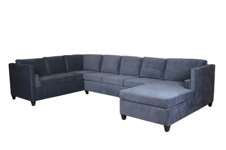 Del Rose | U Sectional Sofa | Latex | Eco-Friendly | STYLNN® - STYLNN Best Sofa Spring System