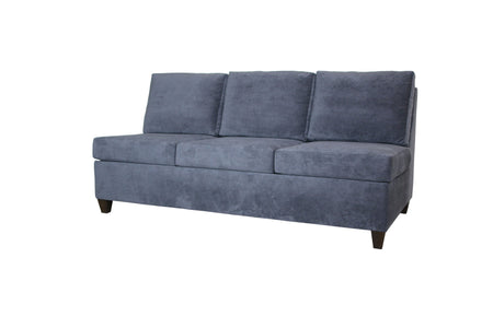"Del Rose | 78"" Armless Sofa 