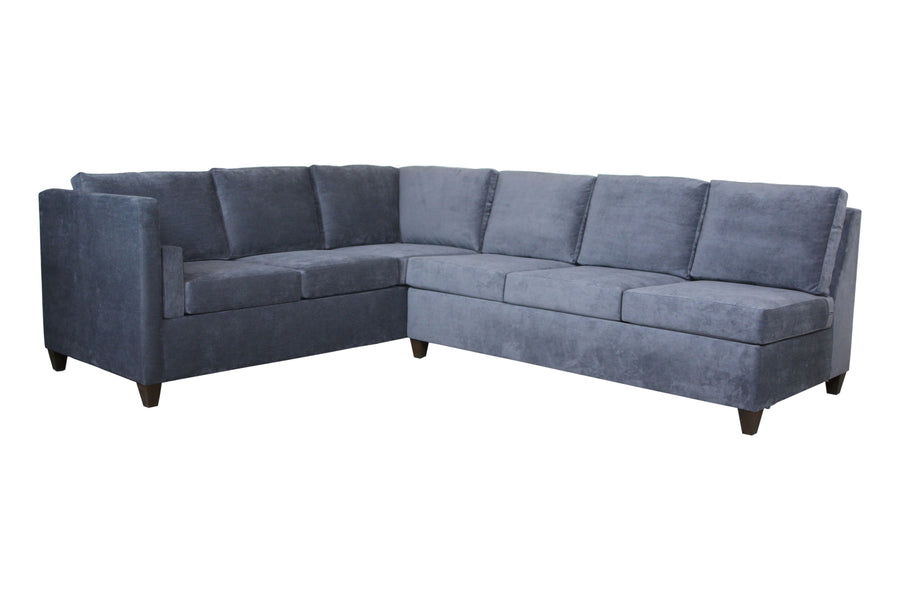 "Del Rose | 60"" x 114"" Left Arm Sofa Sectional 