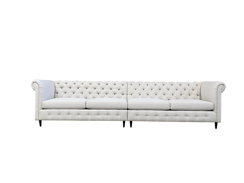 "Tufted Love | 143"" Sofa 