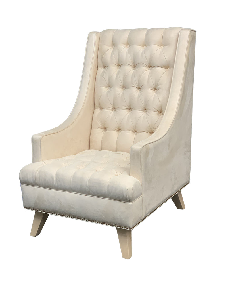 Wendi Tufted | Chair  | High Res Foam || - STYLNN Best Sofa Spring System