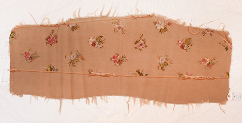 Antique Beige Aubusson French Tapestry Cover Seat Area Rug