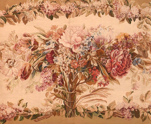 Antique Aubusson-Beauvais French Tapestry