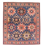 Antique Blue Shirvan Caucasian Russian Area Rug