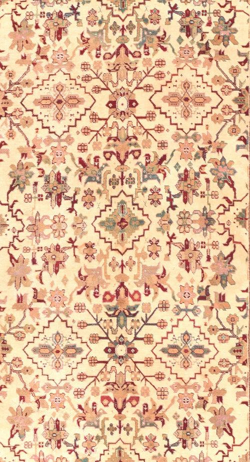 Antique Agra Indian Rug