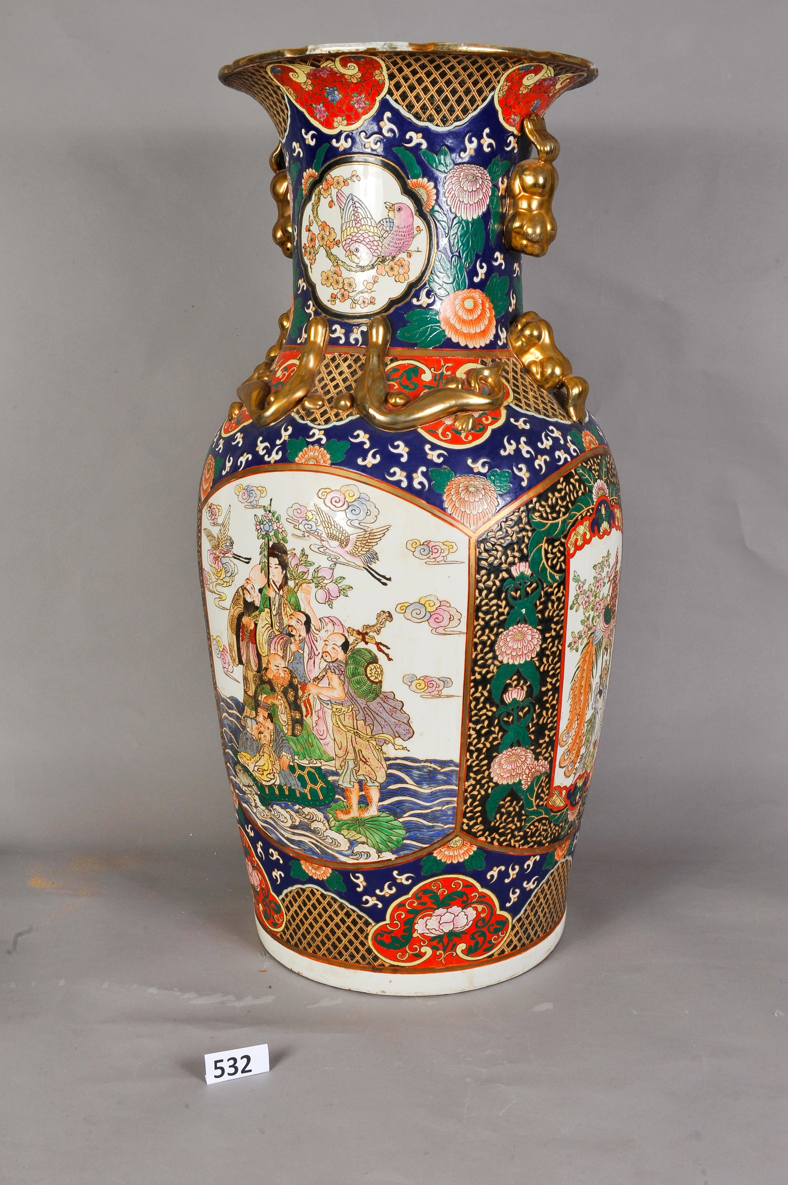 Antique Chinese Floor Vase