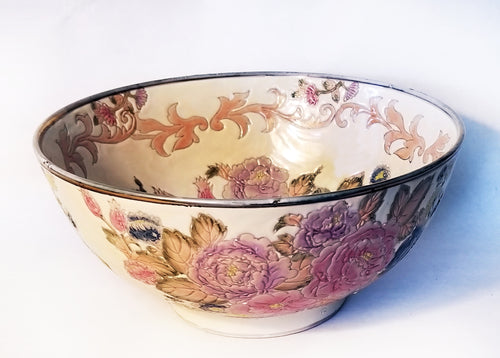 Hand Painted Glazed Bowl Limited