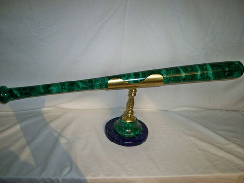 Malachite Baseball Bat
