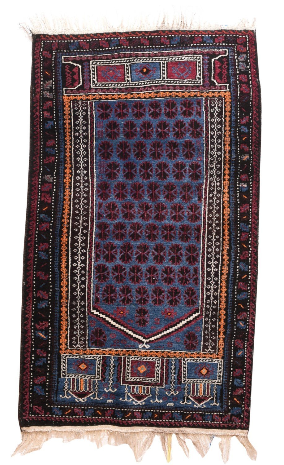 "Semi-Antique Afghan Balouch, Size 3'3"" X 5'5"""