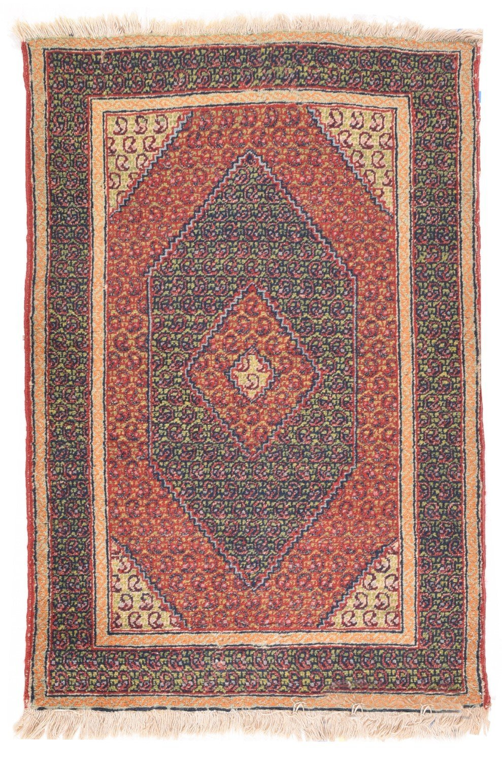 "Antique Turkish Tribal, Size 3'0"" X 4'7"""