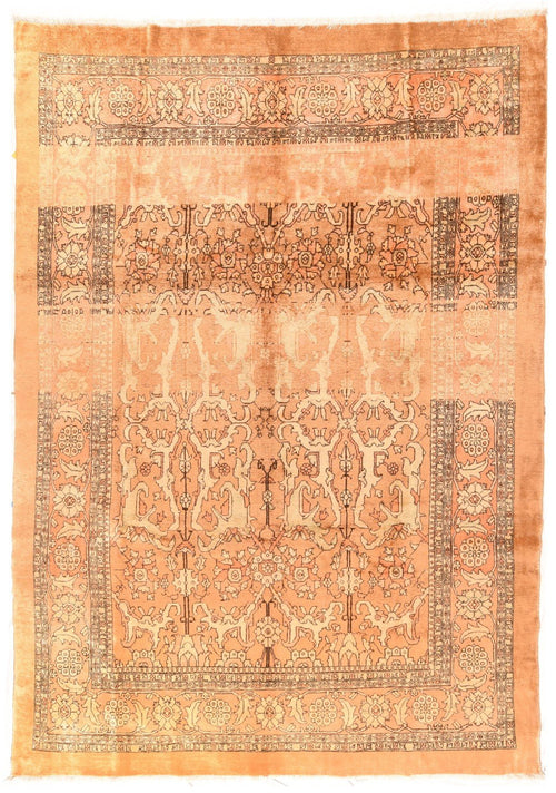 "Antique Hand Knotted Persian Bakhshayesh, Size 8'5"" X 12'3"""