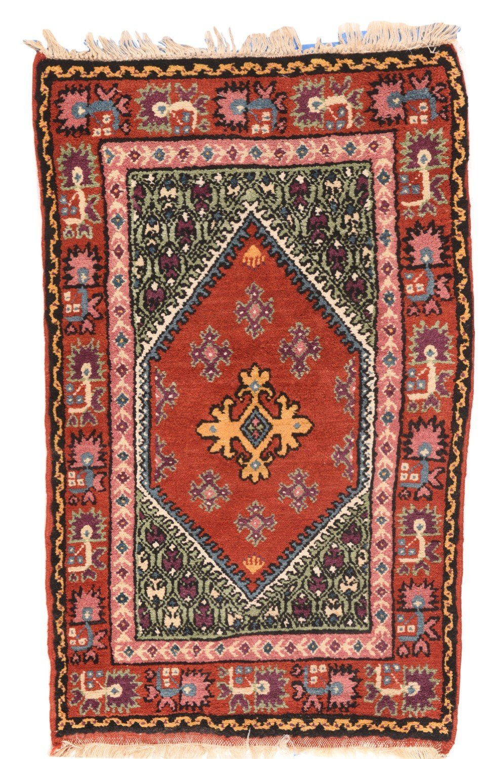 "Antique Turkish Konya, Size 2'6"" X 4'0"""
