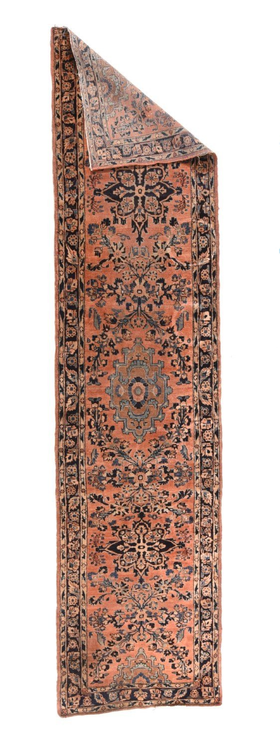 "Fine Semi-Antique Persian Sarouk, Size 2'7"" X 10'0"""