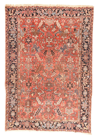 Antique Hand Made Tabriz Persian Rug