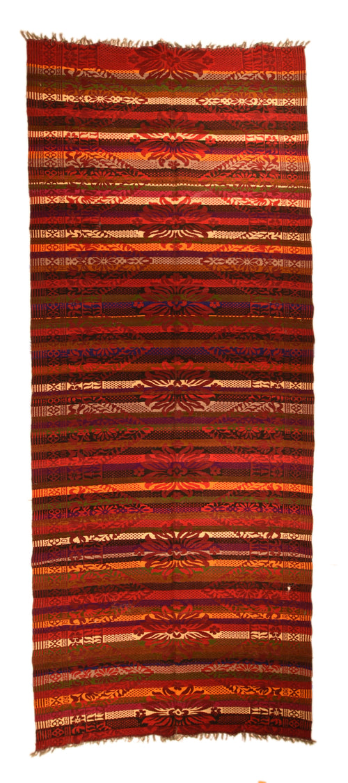 Fine Vintage Tribal Turkish Flat Weave Embroidery