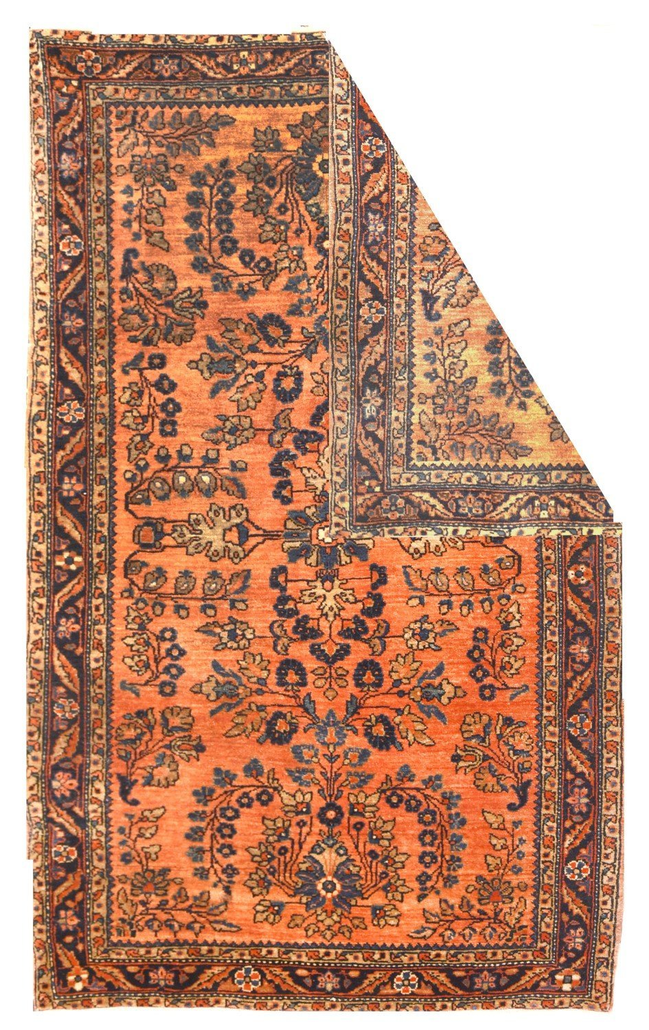 Antique Sarouk Perisan Rug