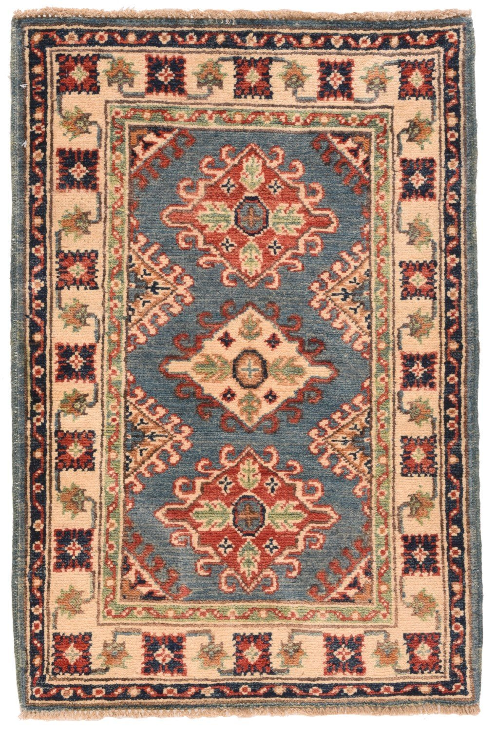 Hand Made Kazak Russian Rug