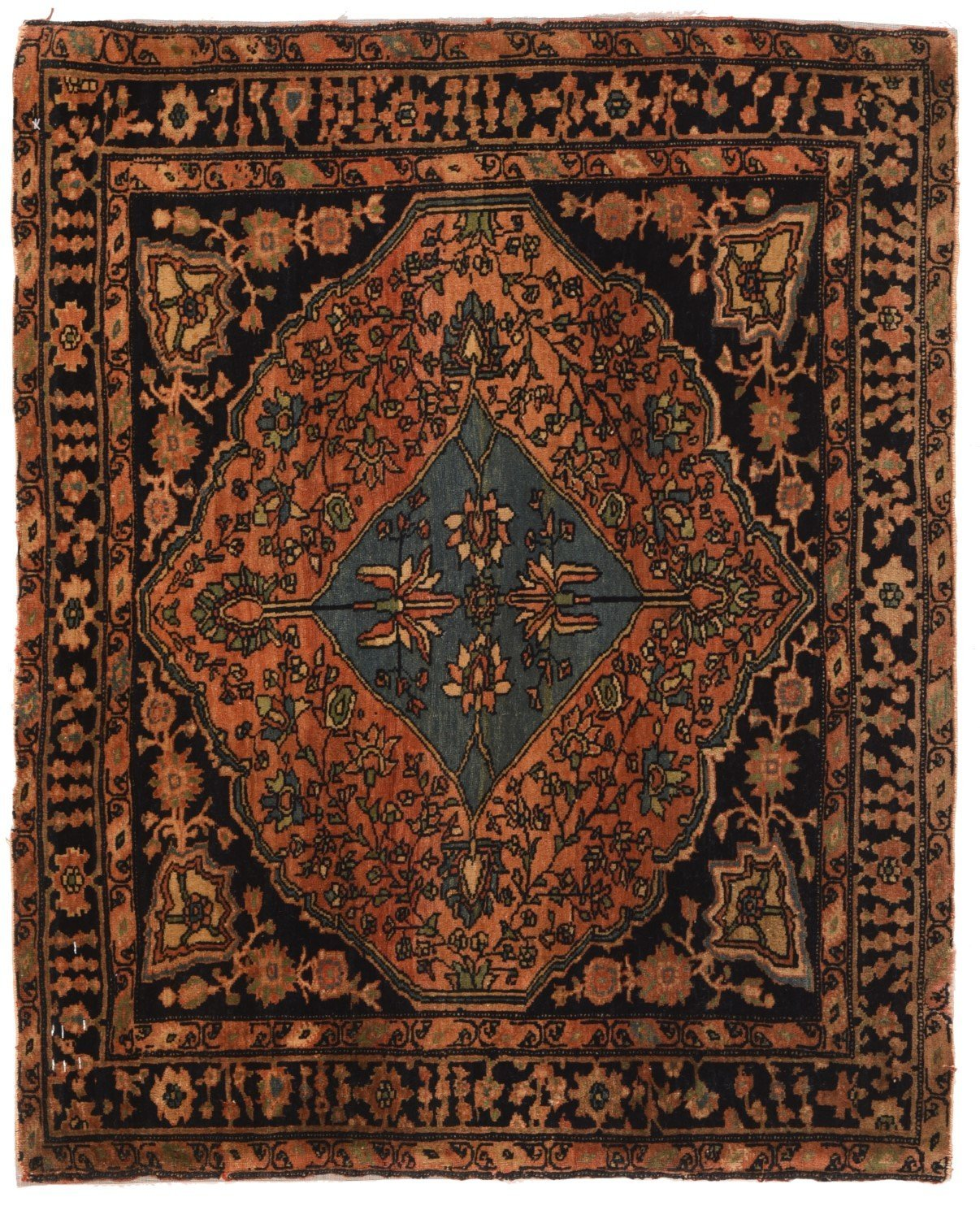 Hand Made Farahan Persian Rug