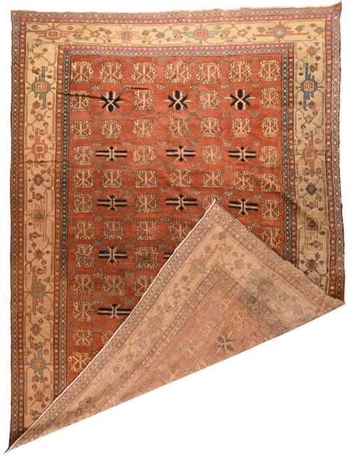 Antique Bakhshaish Persian Area Rug