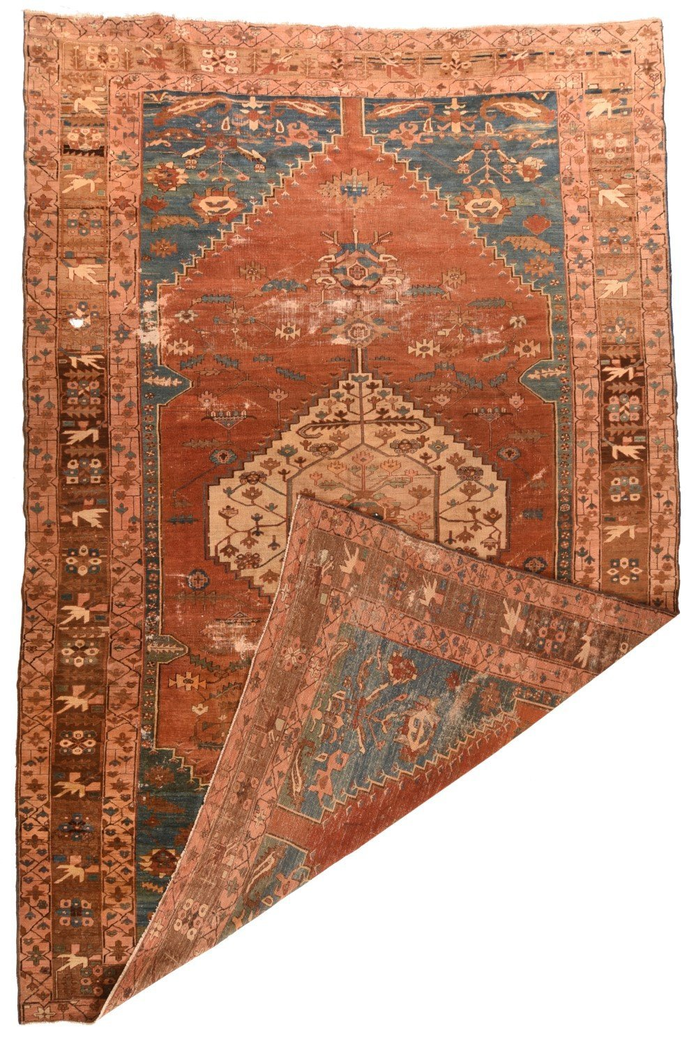 Hand Made Bakhshaish Persian Rug