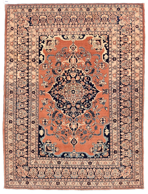 Antique Persian Tabriz Haji Jalili Rug